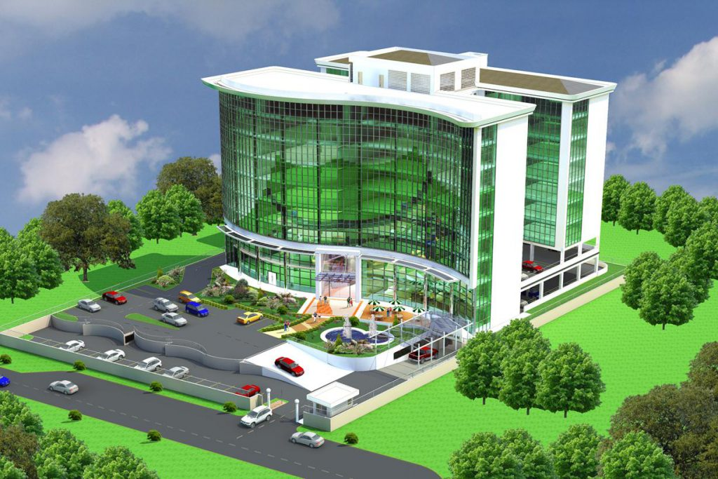 SK Archplans Architects-Galana Office Block