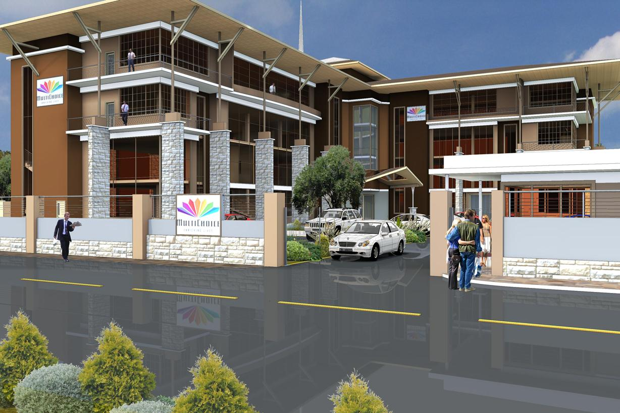 SK Archplans Architects-MultiChoice Offices