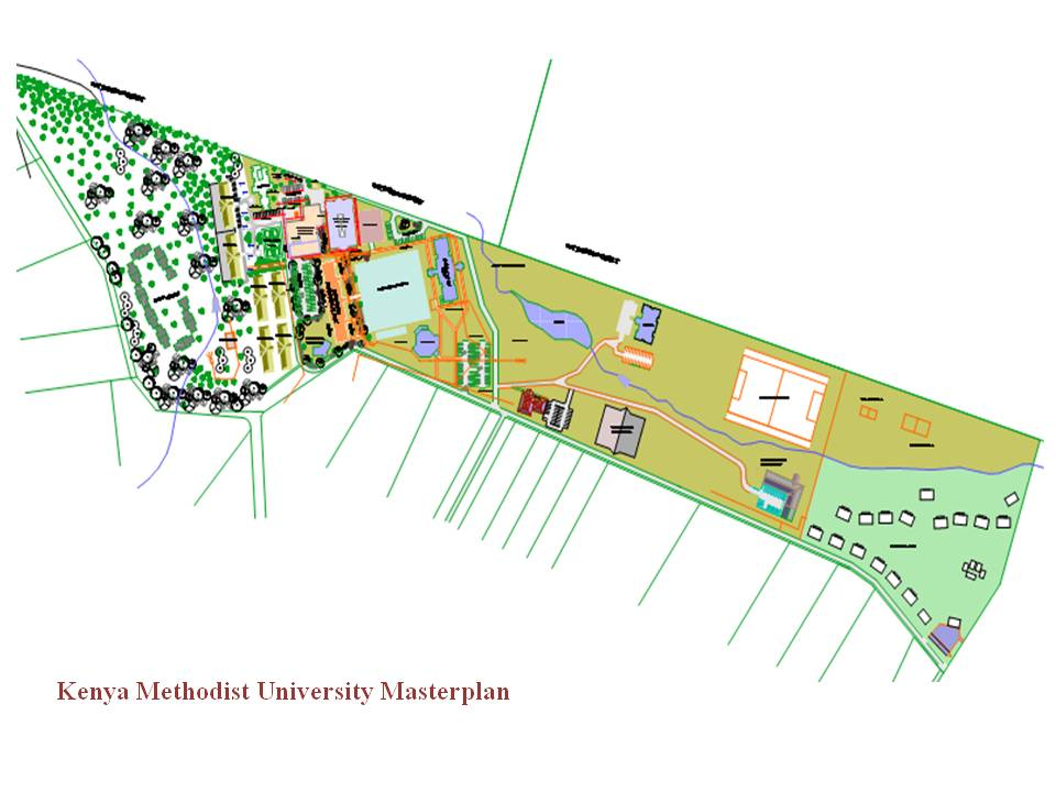 SK Archplans Architects-University MasterPlan