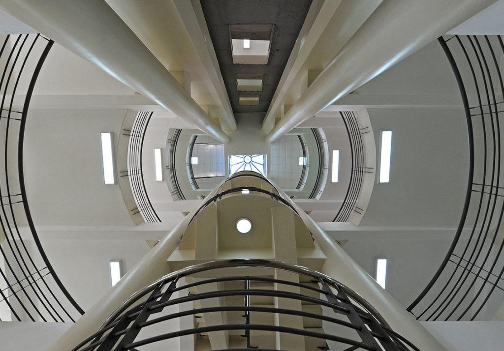 SK Archplans-K.C.A. Library atrium
