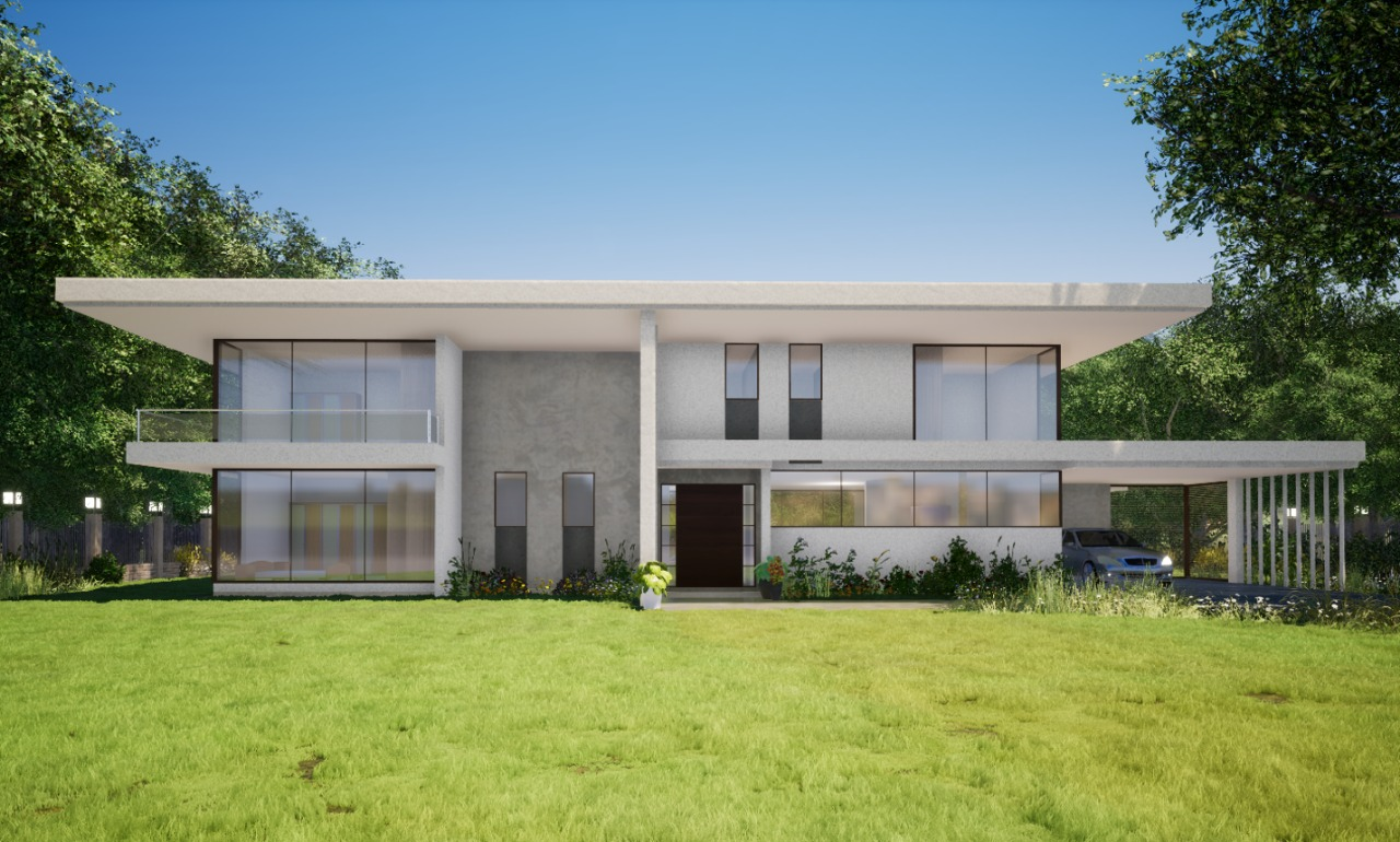 Sk Archplans Residence house