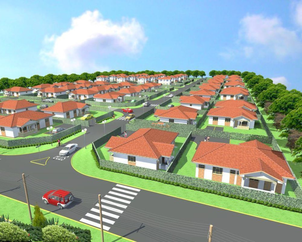 Proposed development in Kaputiei – Gated Community